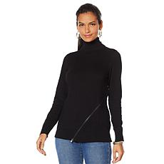 DG2 by Diane Gilman Quad Blend Turtleneck Sweater