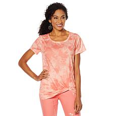 DG2 by Diane Gilman Solid Knotted Tee