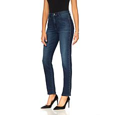 DG2 by Diane Gilman Virtual Stretch Jeweled Skinny Jean