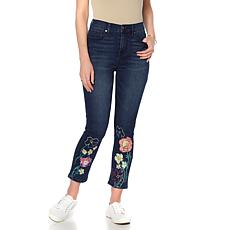 DG2 by Diane Gilman Virtual Stretch Novelty Cropped Jean - Basic