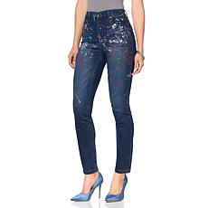 DG2 by Diane Gilman Virtual Stretch Paint Skinny Jean