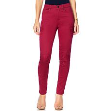 DG2 by Diane Gilman Virtual Stretch Tonal Embroidered Jean - Fashion