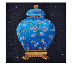 Diamond Dotz Diamond Embroidery Facet Art Kit  - Blue Vase