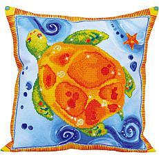 Diamond Dotz Diamond Embroidery Pillow Facet Art Kit - Turtle Journey