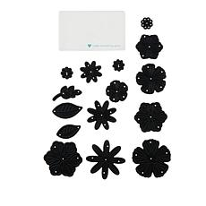 Diamond Press 15-piece 3D Flower Die Bundle