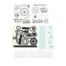 Diamond Press Bee Sweet Stamp, Die and Folder Bundle