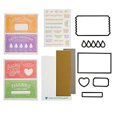 Diamond Press Golden Ticket Scratch-Off Card Making Kit