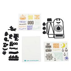 Diamond Press Halloween Gift Bag Stamp and Die Set