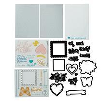 Diamond Press Hello Friend Pull-Tab Stamp and Die Kit