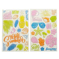 Diamond Press Life's A Beach Stamp Kit