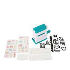 Diamond Press Mini Machine and Tiny Notes Stamp Bundle
