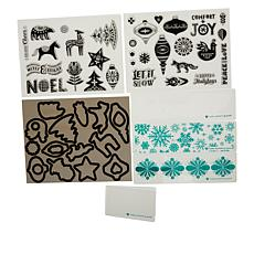 Diamond Press Nordic Christmas Stamp and Die Kit