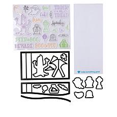 Diamond Press Peek-A-Boo Halloween Stamps & Dies