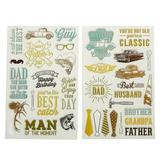 "Diamond Press ""What a Guy"" Stamp Kit"