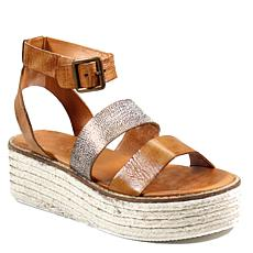 Diba True Day Line Leather Platform Sandal