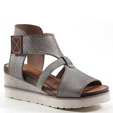Diba True Greens Burg Platform Wedge Sandal