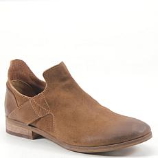 Diba True Make Up Slip-On Suede Ankle Bootie