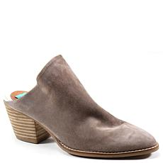 Diba True Over Edge Suede Western Mule