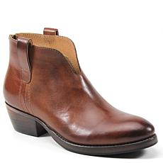 Diba True Pay Able Leather Ankle Bootie