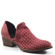 Diba True Sauce Say Woven Leather Bootie