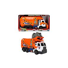 "Dickie Toys Action Series 16"" Garbage Truck"