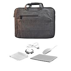 "Digital Basics 15"" 2-in-1 Laptop Sleeve with Mouse and Accessories"