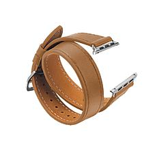 Digital Basics Double Wrap Leather Band for 38mm/40mm Apple Watch