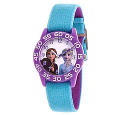 Disney Frozen 2 Elsa and Anna Kids' Reversible Purple/Blue Strap Wa...