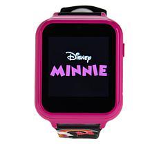 Disney Minnie Mouse Kids' Black Interactive Smart Watch