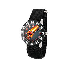 "Disney The Incredibles ""Dash"" Kid's Rotating Bezel Time-Teacher Watch"