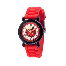 Disney The Incredibles Kid's Time-Teacher Red Strap Bracelet Watch