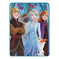 Disney's Frozen 2 - Fall Foliage 059 Micro Raschel Throw Blanket