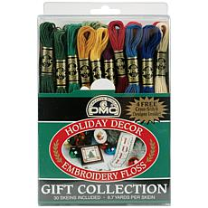 DMC Embroidery 30-Skein Floss Pack - Holiday Decor