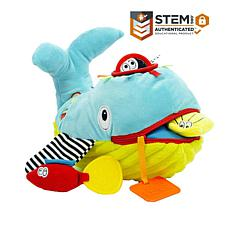 Dolce Play & Learn Whale Plush Toy