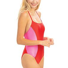 Dolfin Uglies Revibe High-Shine Diamondback One-Piece Swimsuit