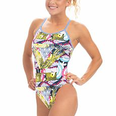 Dolfin Uglies Women's Printed String Back Swimsuit