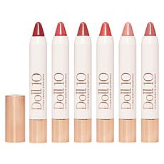 Doll 10 Champagne Kisses 6-piece Lip Crayon Set