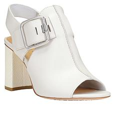 Donald J. Pliner Anette Leather Block-Heel Sandal
