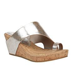 Donald J. Pliner Gyer2 Leather Toe Loop Platform Sandal