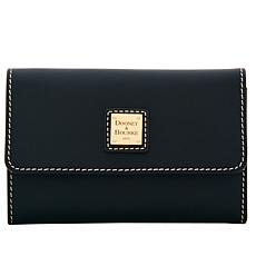 Dooney & Bourke Beacon Vachetta Leather Flap Wallet