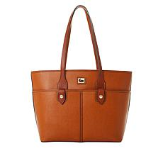 Dooney & Bourke Camden Saffiano Double Pocket Tote