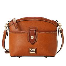 Dooney & Bourke Camden Saffiano Leather Domed Crossbody