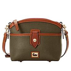 Dooney & Bourke Camden Saffiano Leather Domed Crossbody