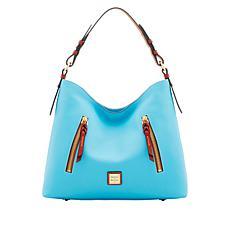 Dooney & Bourke Cooper Pebble Leather Hobo Bag - Fashion