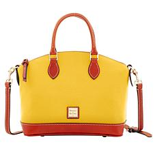 Dooney & Bourke Darcy Pebble Leather Satchel - Fashion