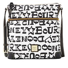 Dooney & Bourke Doodle Coated Cotton Crossbody