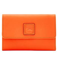 Dooney & Bourke Florentine Leather Flap Wallet - Fashion