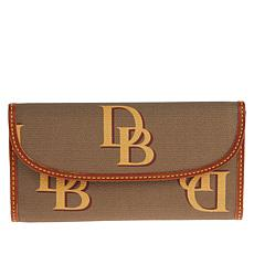 Dooney & Bourke Monogram Continental Clutch Wallet