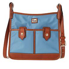 Dooney & Bourke Nylon Double Pocket Crossbody - Fashion
