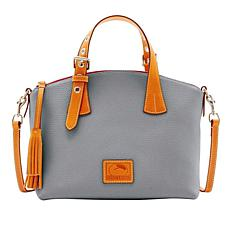 Dooney & Bourke Patterson Pebble Leather Trina Satchel